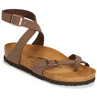 Schoenen Dames Sandalen / Open schoenen Birkenstock YARA Bruin