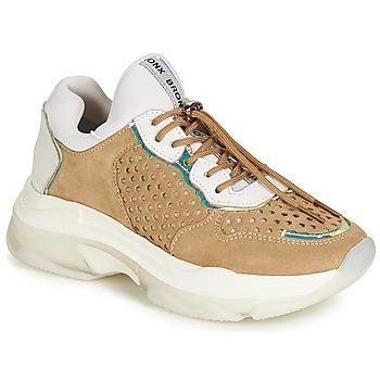 Schoenen Dames Lage sneakers Bronx BAISLEY Wit / Bruin