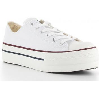 Schoenen Dames Lage sneakers Victoria 1061100 blanco blanc