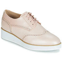 Schoenen Dames Derby Moony Mood INDO Roze / Parel