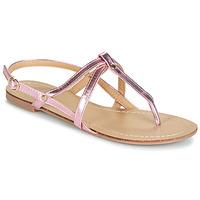 Schoenen Dames Sandalen / Open schoenen Moony Mood JEKERINE Roze / Metaal