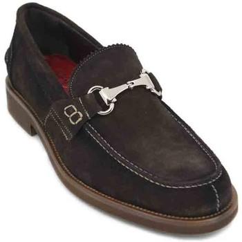 Schoenen Heren Mocassins Luis Gonzalo 7599H Zapatos de Hombre Bruin