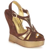 Schoenen Dames Sandalen / Open schoenen Terry de Havilland FARAH Chocolat