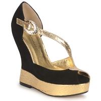 Schoenen Dames Sandalen / Open schoenen Terry de Havilland PENNY Zwart goud