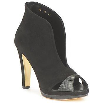 Schoenen Dames Low boots Gaspard Yurkievich A9-VAR7 Zwart