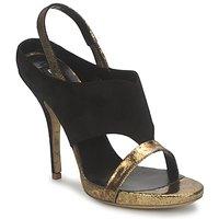 Schoenen Dames Sandalen / Open schoenen Gaspard Yurkievich T4 VAR7 Zwart / Goud
