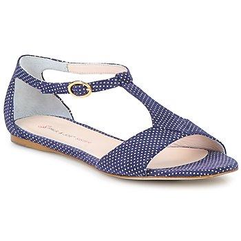 Schoenen Dames Sandalen / Open schoenen Paul & Joe Sister PERRY Marine / Wit