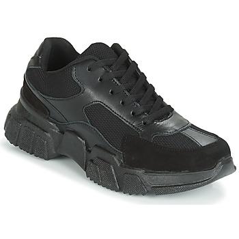 Schoenen Dames Lage sneakers Yurban JILIBELLE Zwart