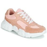 Schoenen Dames Lage sneakers Yurban JILIBELLE Roze