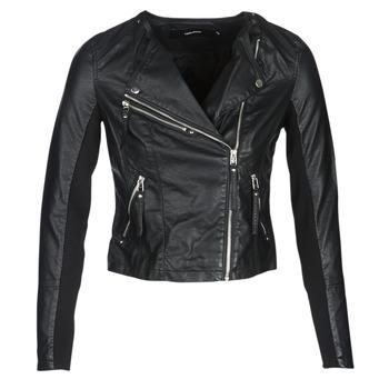 Textiel Dames Leren jas / kunstleren jas Vero Moda VMRIA FAV Zwart