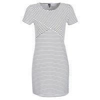 Textiel Dames Korte jurken Vero Moda VMVIGGA Wit / Zwart