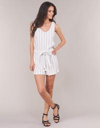 Textiel Dames Jumpsuites / Tuinbroeken Vero Moda VMANNA Wit / Blauw