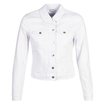 Textiel Dames Spijker jassen Vero Moda VMHOT SOYA Wit
