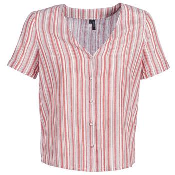 Textiel Dames Tops / Blousjes Vero Moda VMESTHER Rood