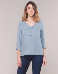 Textiel Dames Tops / Blousjes Vero Moda VMTRUDY Blauw