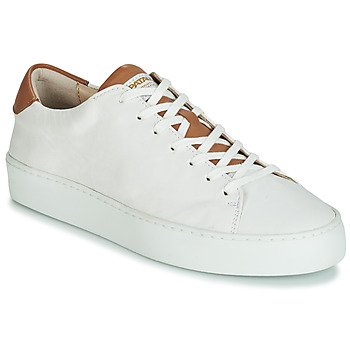 Schoenen Dames Lage sneakers Pataugas KELLA Wit / Cognac