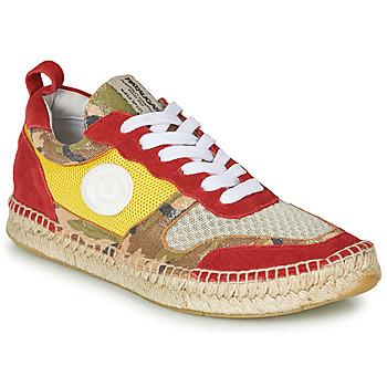 Schoenen Dames Lage sneakers Pataugas MARCIA Geel / Rood