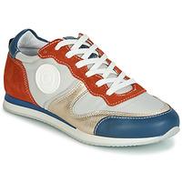 Schoenen Dames Lage sneakers Pataugas IDOL/MIX Oranje / Beige / Blauw