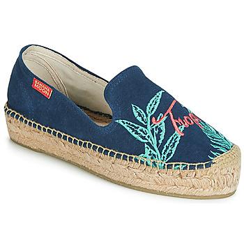 Schoenen Dames Espadrilles Banana Moon VERAO Blauw