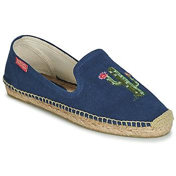 Schoenen Dames Espadrilles Banana Moon OZZIE Blauw