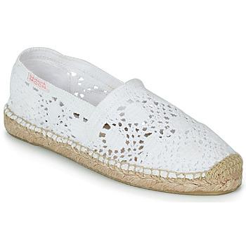 Schoenen Dames Espadrilles Banana Moon NIWI Wit