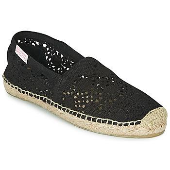 Schoenen Dames Espadrilles Banana Moon NIWI Zwart