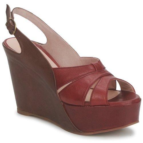 Schoenen Dames Sandalen / Open schoenen Paco Gil RITMO SELV Camel / Bordeau
