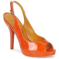 Schoenen Dames Sandalen / Open schoenen Paco Gil STAR FIZO Oranje
