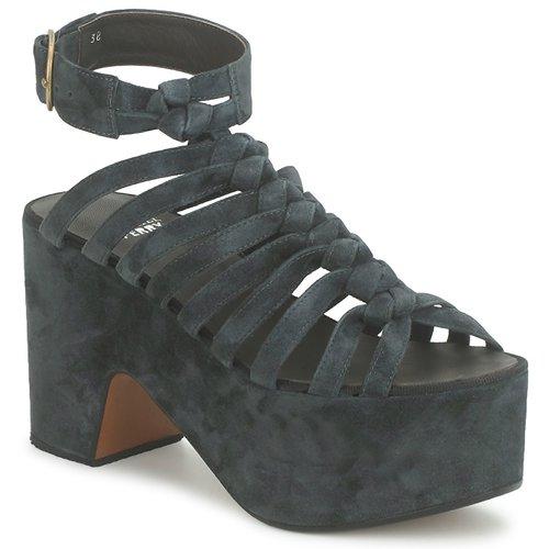 Schoenen Dames Sandalen / Open schoenen Michel Perry 12676 Zwart