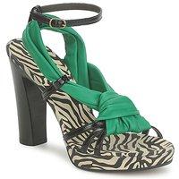 Schoenen Dames Sandalen / Open schoenen Michel Perry 12709 Smaragd