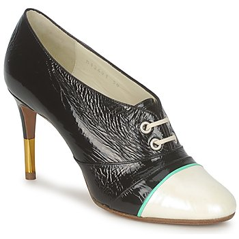 Schoenen Dames Low boots Michel Perry 12691 Paarlemoer - zwart