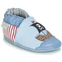 Schoenen Jongens Babyslofjes Robeez PIRATE'S BOAT Blauw