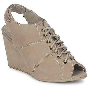 Schoenen Dames Low boots No Name DIVA OPEN TOE Beige
