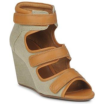 Schoenen Dames Sandalen / Open schoenen No Name DIVA STRAPS Beige