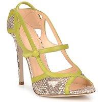 Schoenen Dames Sandalen / Open schoenen Roberto Cavalli RPS678 Slang / Groen