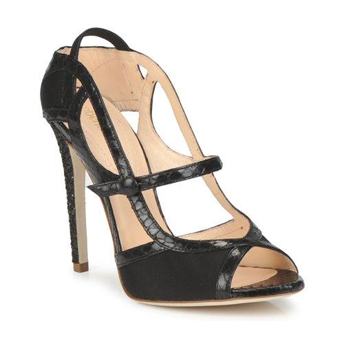 Schoenen Dames Sandalen / Open schoenen Roberto Cavalli RPS678 Zwart