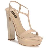 Schoenen Dames Sandalen / Open schoenen Roberto Cavalli RDS735 Beige / Nude
