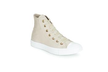 Schoenen Dames Hoge sneakers Converse CHUCK TAYLOR ALL STAR HEARTS CANVAS HI Grijs