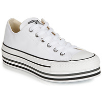 Schoenen Dames Lage sneakers Converse CHUCK TAYLOR ALL STAR PLATFORM EVA LAYER CANVAS OX Wit