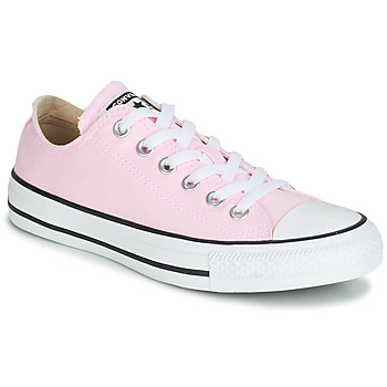 Schoenen Dames Lage sneakers Converse CHUCK TAYLOR ALL STAR SEASONAL CANVAS OX Roze
