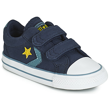 Schoenen Jongens Lage sneakers Converse STAR PLAYER 2V CANVAS OX Blauw
