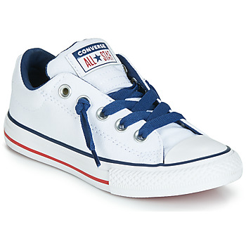 5ea21d9f01a Schoenen Kinderen Lage sneakers Converse CHUCK TAYLOR ALL STAR STREET CANVAS  OX Wit