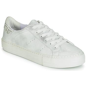 Schoenen Dames Lage sneakers No Name ARCADE Wit / Zilver