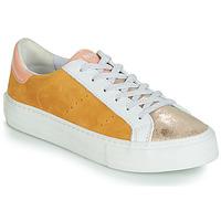 Schoenen Dames Lage sneakers No Name ARCADE Wit / Goud / Geel