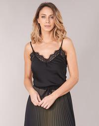 Textiel Dames Tops / Blousjes Ikks BN11105-02 Zwart