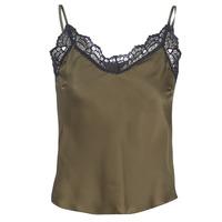Textiel Dames Tops / Blousjes Ikks BN11105-56 Kaki