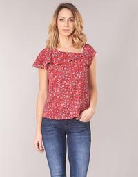 Textiel Dames Tops / Blousjes Ikks BN11345-35 Koraal / Multicolour