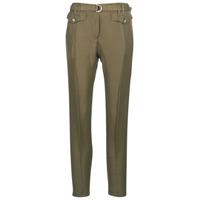 Textiel Dames 5 zakken broeken Ikks BN22125-56 Kaki