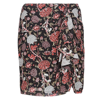 Textiel Dames Rokken Ikks BN27105-02 Zwart / Multicolour