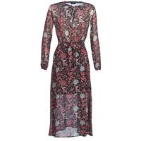 Textiel Dames Lange jurken Ikks BN30065-02 Zwart / Rood / Grijs